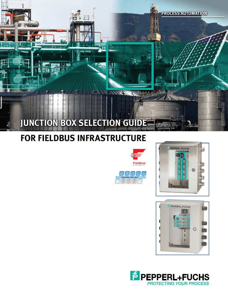Junction Box Selection Guide for Fieldbus