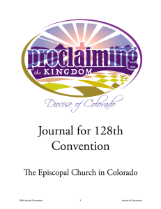 Journal of the 128th Annual Convention