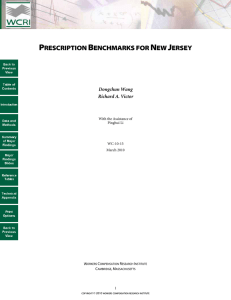 prescription benchmarks for new jersey