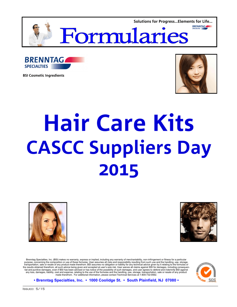 Hair Care Formulary Guide