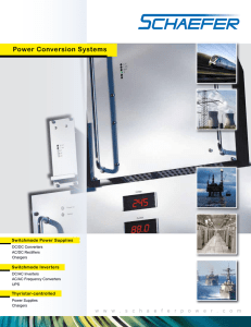Power Conversion Systems