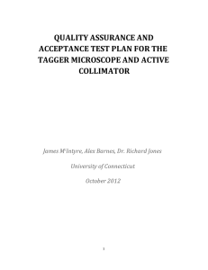 quality assurance - University of Connecticut
