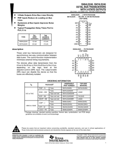 LS245 data sheet