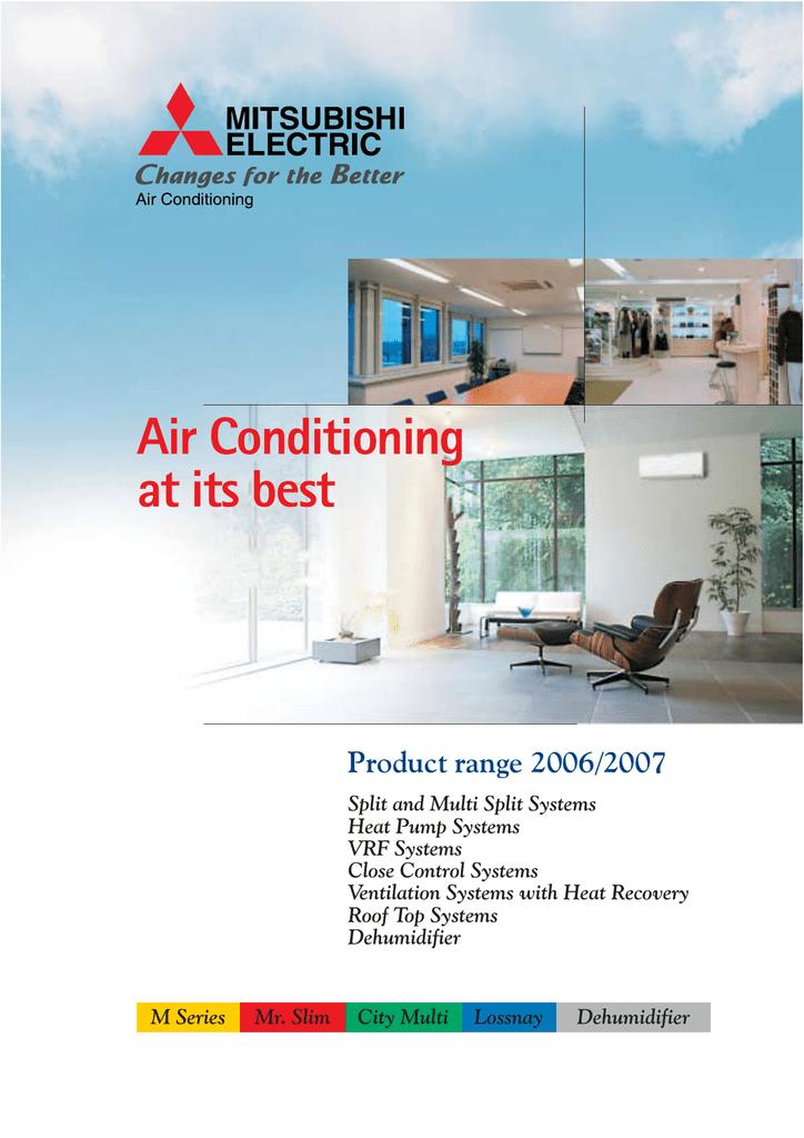Mitsubishi Electric Air Conditioning Par F27mea J