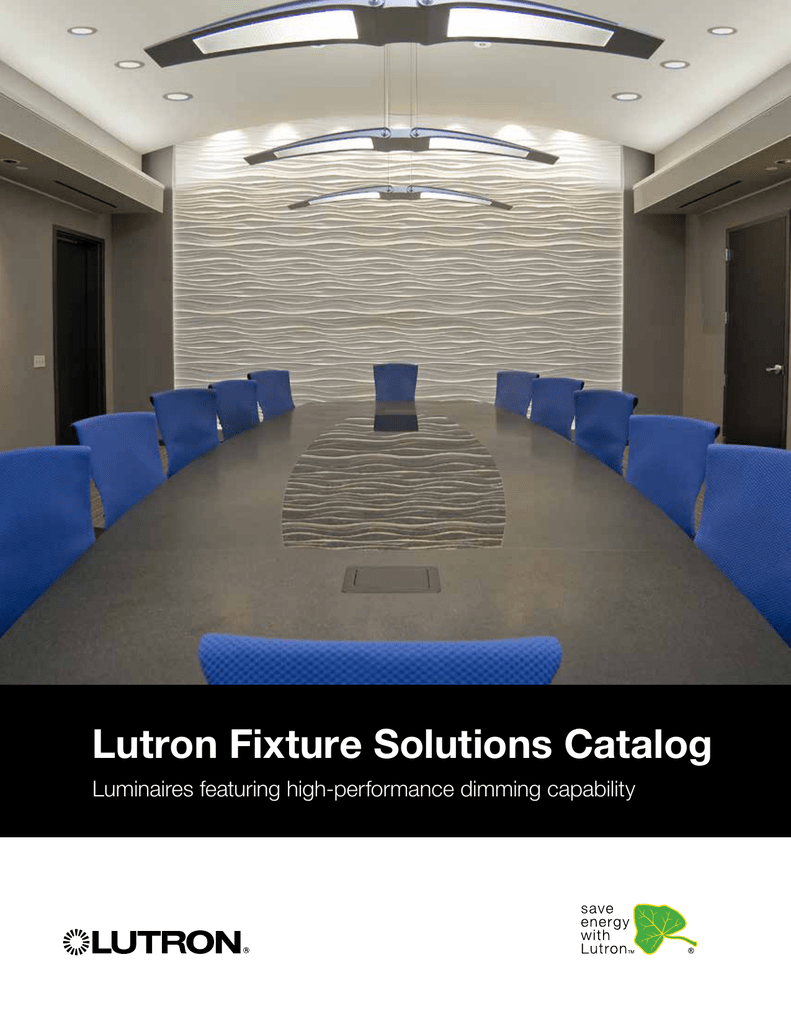 Lutron Fixture Solutions Catalog Cfl42 Dimming Ballast Wiring Diagrams