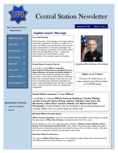 SFPD newsletter 092714 - The Barbary Coast News