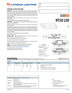 RT5D LED - Acuity Brands