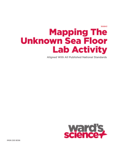 Mapping The Unknown Sea Floor Lab Activity