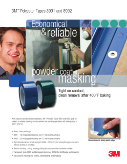 3M™ Polyester Tape 8992 Flyer