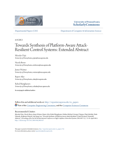 Towards Synthesis of Platform-Aware Attack