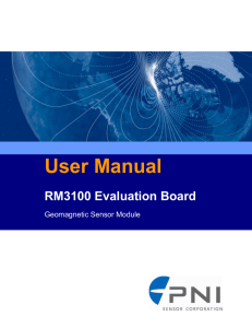 RM3100 Evaluation Board User Guide