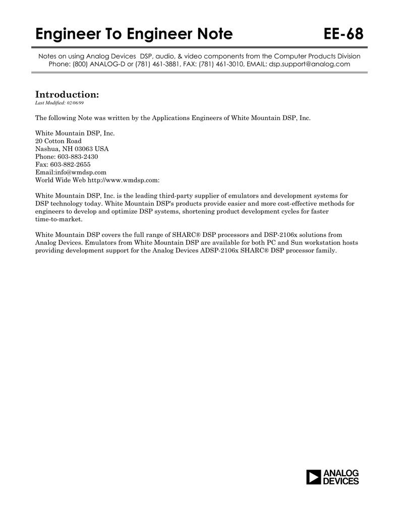 Engineer To Engineer Note EE-68 a
