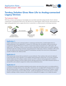 Turnkey Solution Gives New Life to Analog