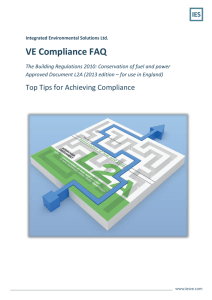 VE Compliance FAQ - Integrated Environmental Solutions