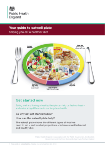 The Eatwell Guide - Publications