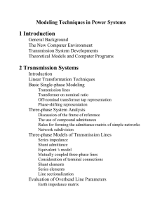 1 Introduction 2 Transmission Systems