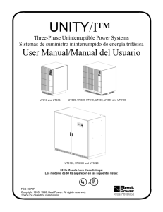 Three-Phase User Manual