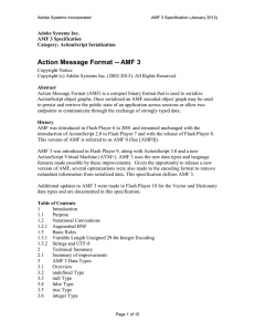 AMF 3 Specification