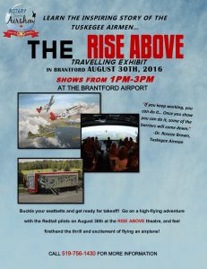 rise above - Rotary Charity Airshow