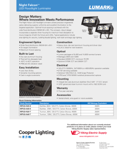 GTS Commercial LED Catalogue web