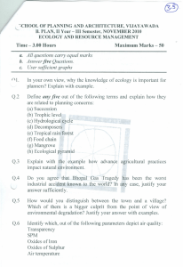 Time - 3.00 Hours Maximum Marks - 50 a. All questions carry equal