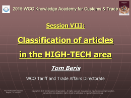 T.Beris_Classification of articles in the HIGH