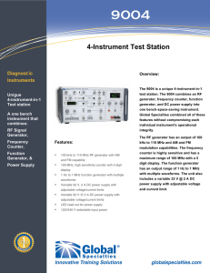 4-Instrument Test Station