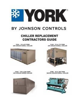 Chiller Replacement Contractor`s Guide
