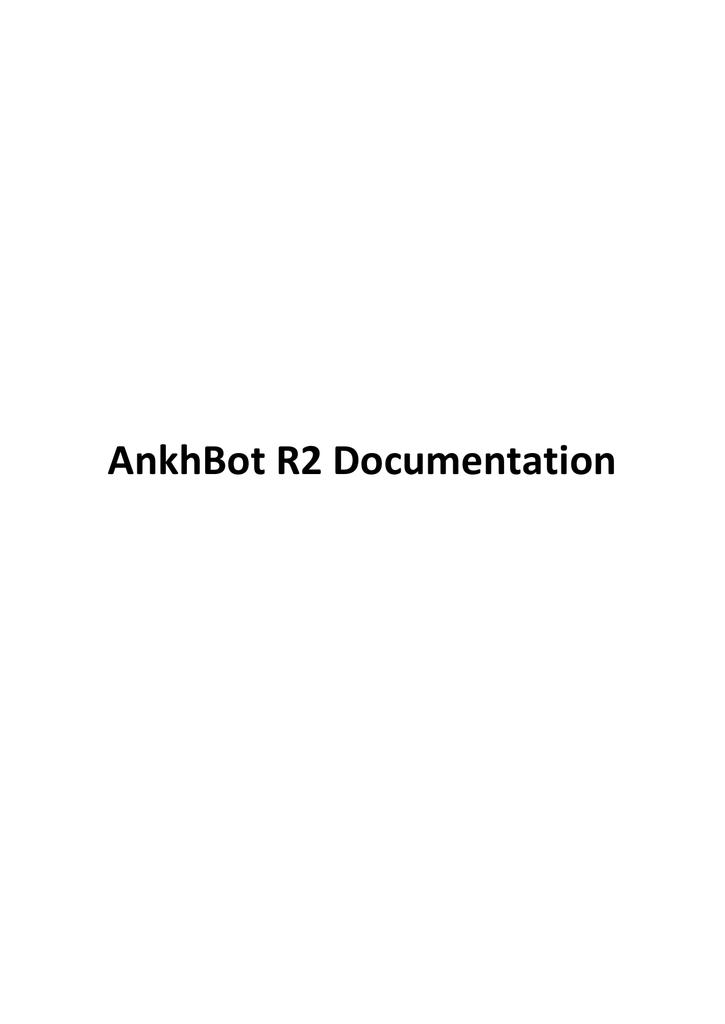 AnkhBot R2 Documentation