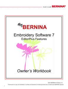bernina - Sew Original