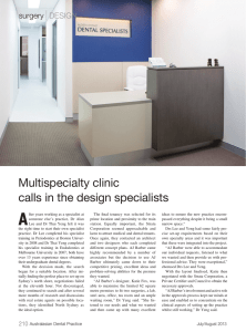 read more about their surgery in dental practice magazine