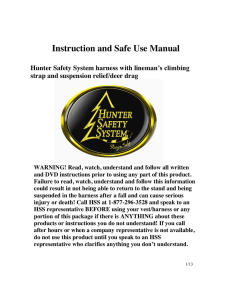 Instruction and Safe Use Manual