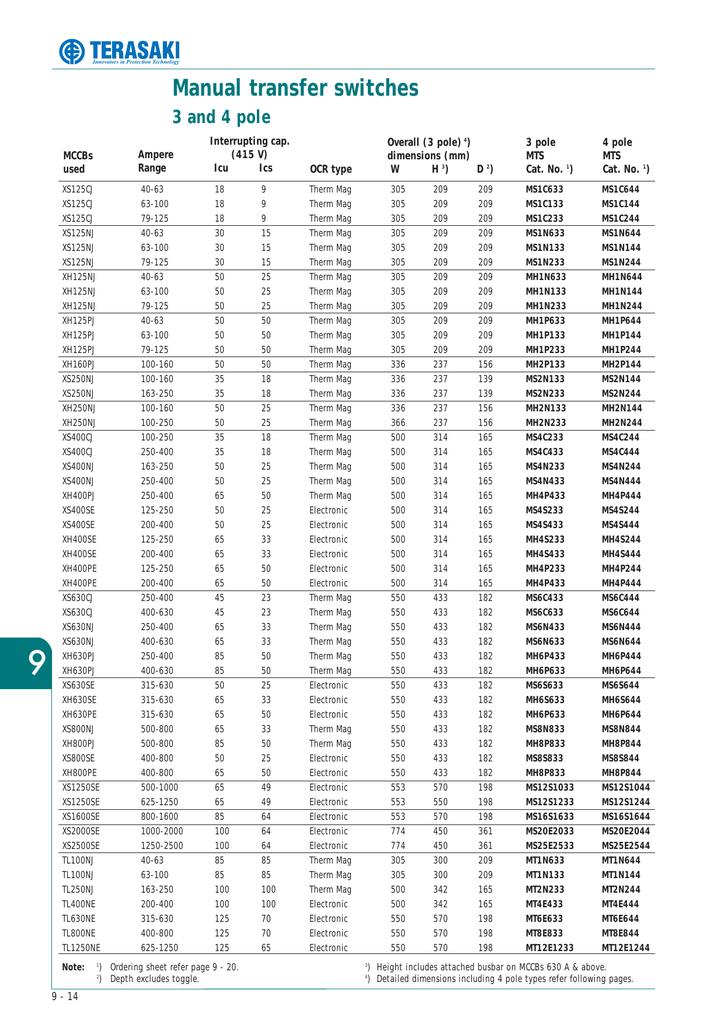 mac dt transfer switches rh studylib net