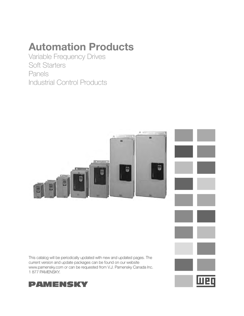 Automation Products - V.J. Paky Canada Inc. on