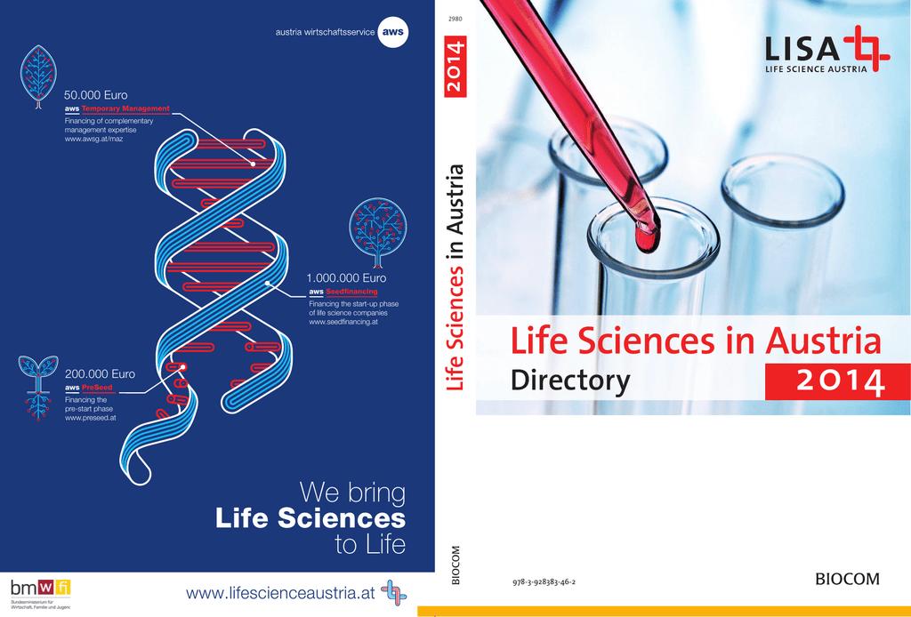 c4388f90c3 Life Sciences in Austria 2014 - Austrian Life Sciences Directory