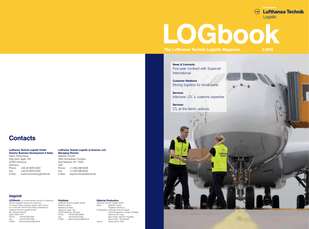 Contacts - Lufthansa Technik Logistik Services