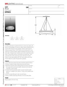 EIP9025 - SPI Lighting