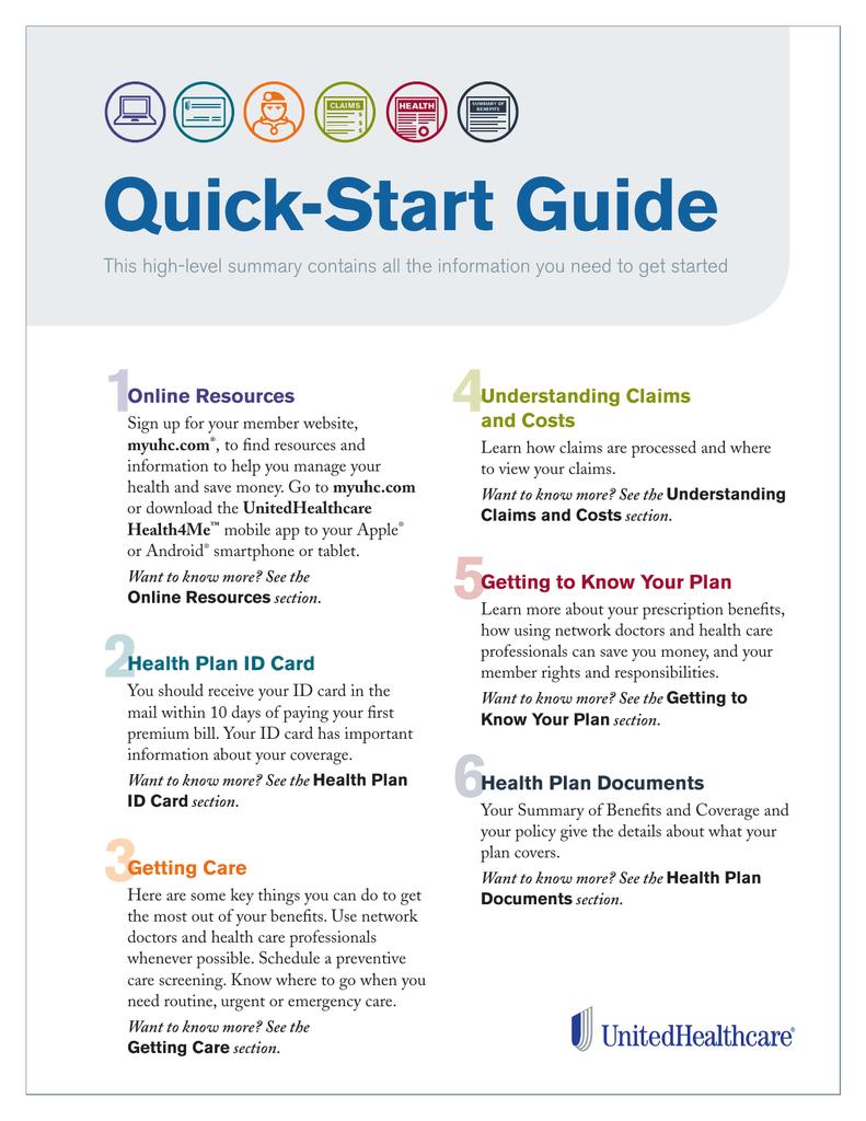 Quick Start Guide Unitedhealthcare