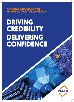 DRIVING CREDIBILITY DELIVERING CONFIDENCE