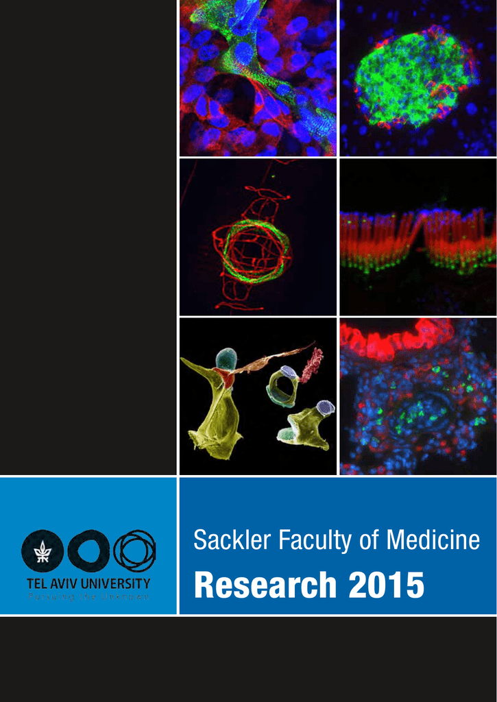 Research 2015 - Sackler Faculty of Medicine