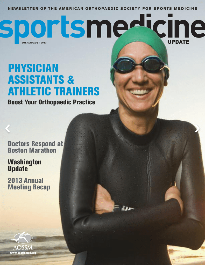 July-August - American Orthopaedic Society for Sports Medicine