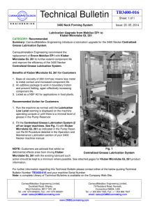 Technical Bulletin - CarnaudMetalbox Engineering