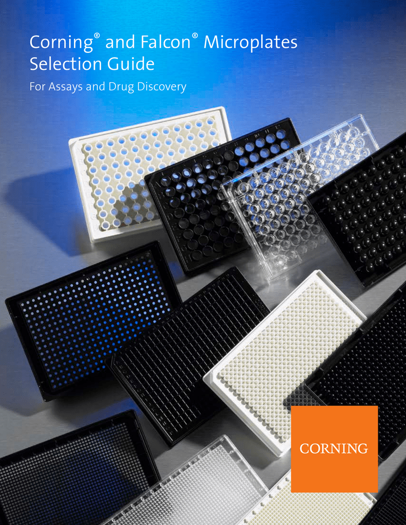 Corning And Falcon Microplates Selection Guide