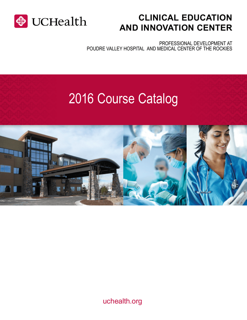 View Our Course Catalog - University of Colorado Health