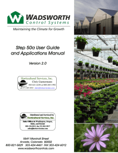 Step50a User Guide and Applications Manual