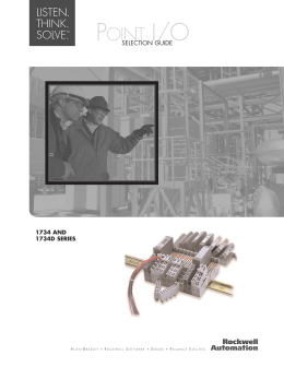 cig wda en p allen bradley i o modules wiring diagrams select point i o modules