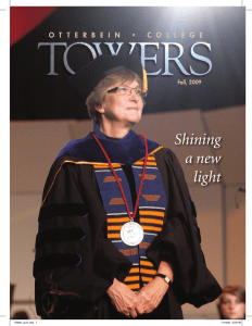 Shining a new light - Otterbein University