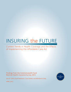 Insuring the Future - The Commonwealth Fund