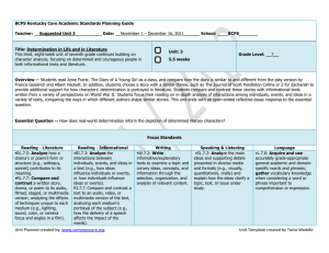 Unit Planned created by www.commoncore.org Unit Template