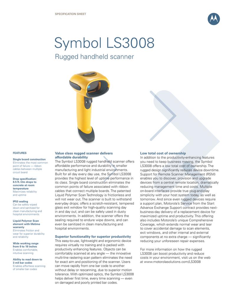 Symbol Ls3008